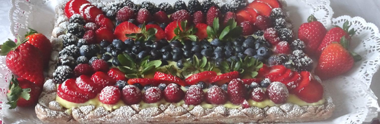 Le crostate con la frutta