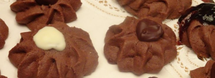 Biscottini al cacao (ricetta di Iginio Massari)