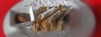 Cannoli croccanti al cioccolato