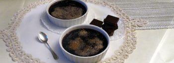Crème brulée al cioccolato