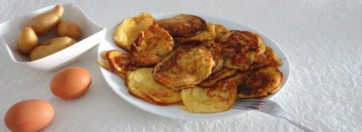 Crespelle soffici di patate