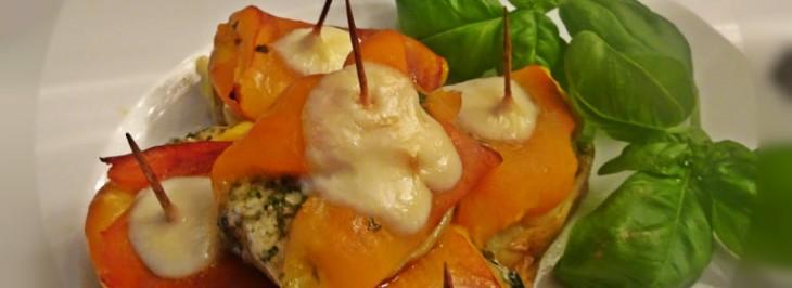 Crostini di patate e peperoni