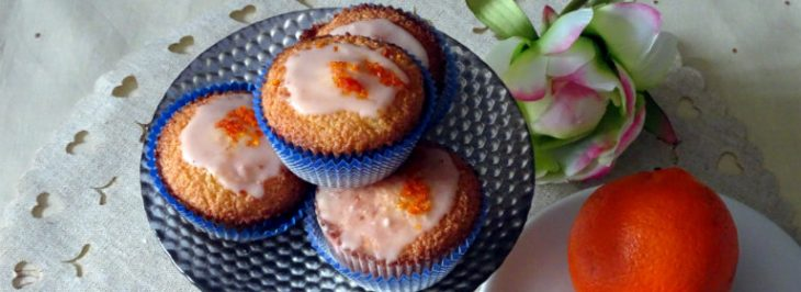 Mini-cakes all'arancia e alle mandorle