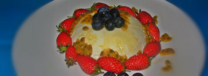 Panna cotta allo yogurt