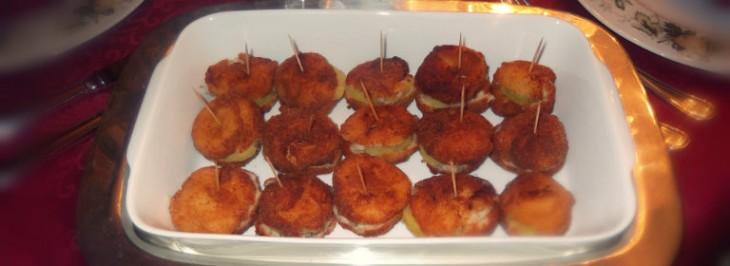 Polpettine di baccalà farcite con patate