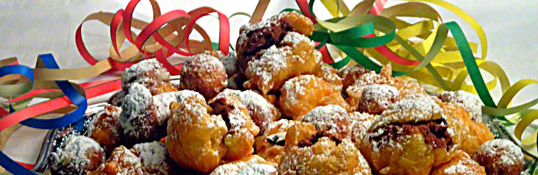 Le ricette dolci di Carnevale...