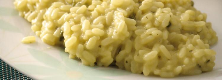 Risotto con pere e gorgonzola