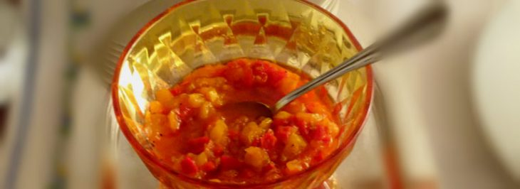 Salsa ai peperoni in agrodolce