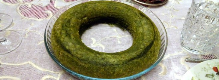 Soufflé di spinaci