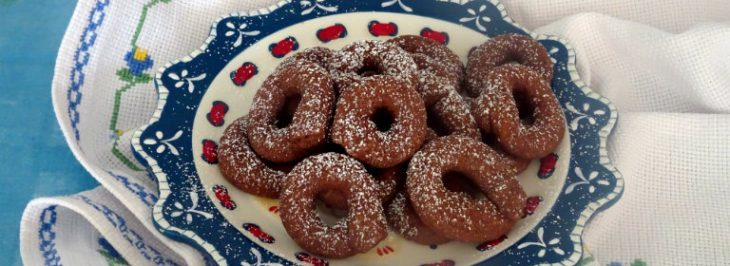 Taralli dolci al cacao