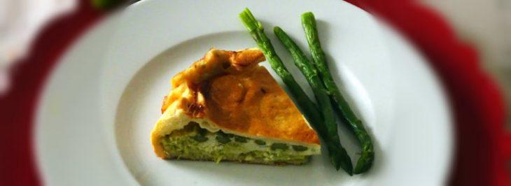 Torta di asparagi con gorgonzola dolce