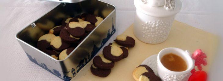 Biscotti sablés al cioccolato e zenzero