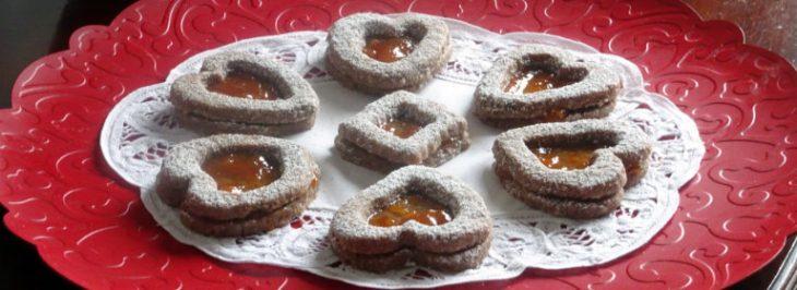 Cuori di Linzer torte
