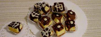 Dolcetti cheesecake al cioccolato