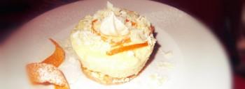 Semifreddo all'arancia
