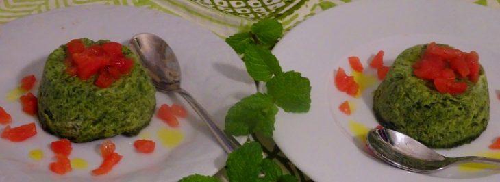 Sformatini spinaci e ricotta