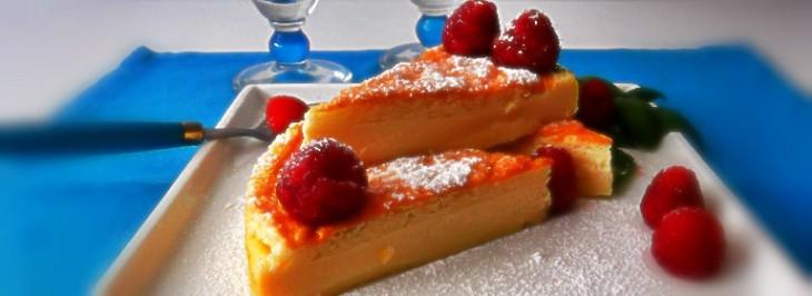 Torta fredda alla vaniglia