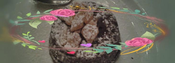 Tortino di cioccolato con cuore fondente allo zenzero